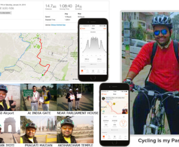 The interesting tale and trails of a passionate cycling enthusiast