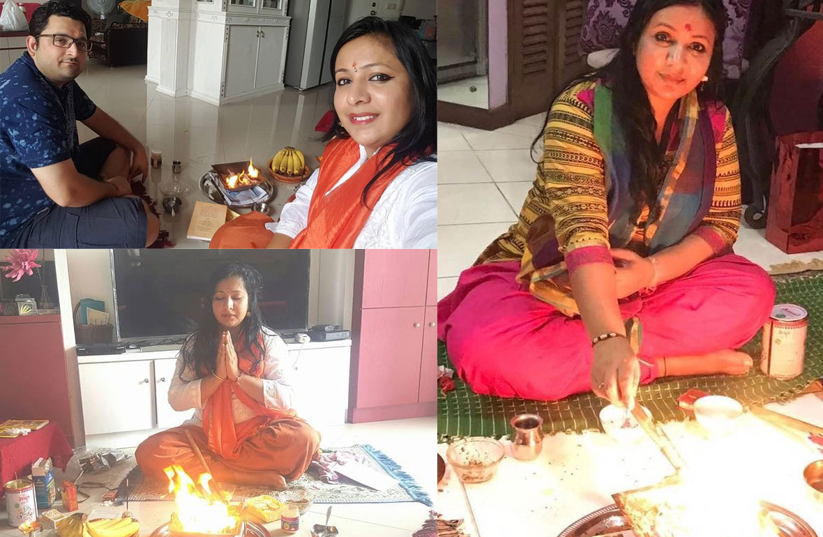 Kanika - Performing Havan