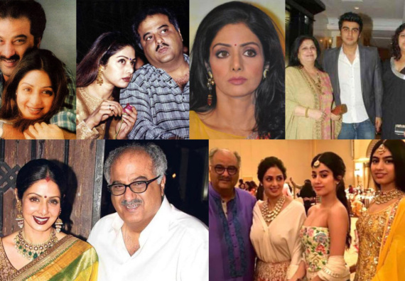 Read the roller coaster tale about Sridevi's real life story about her struggles and successes