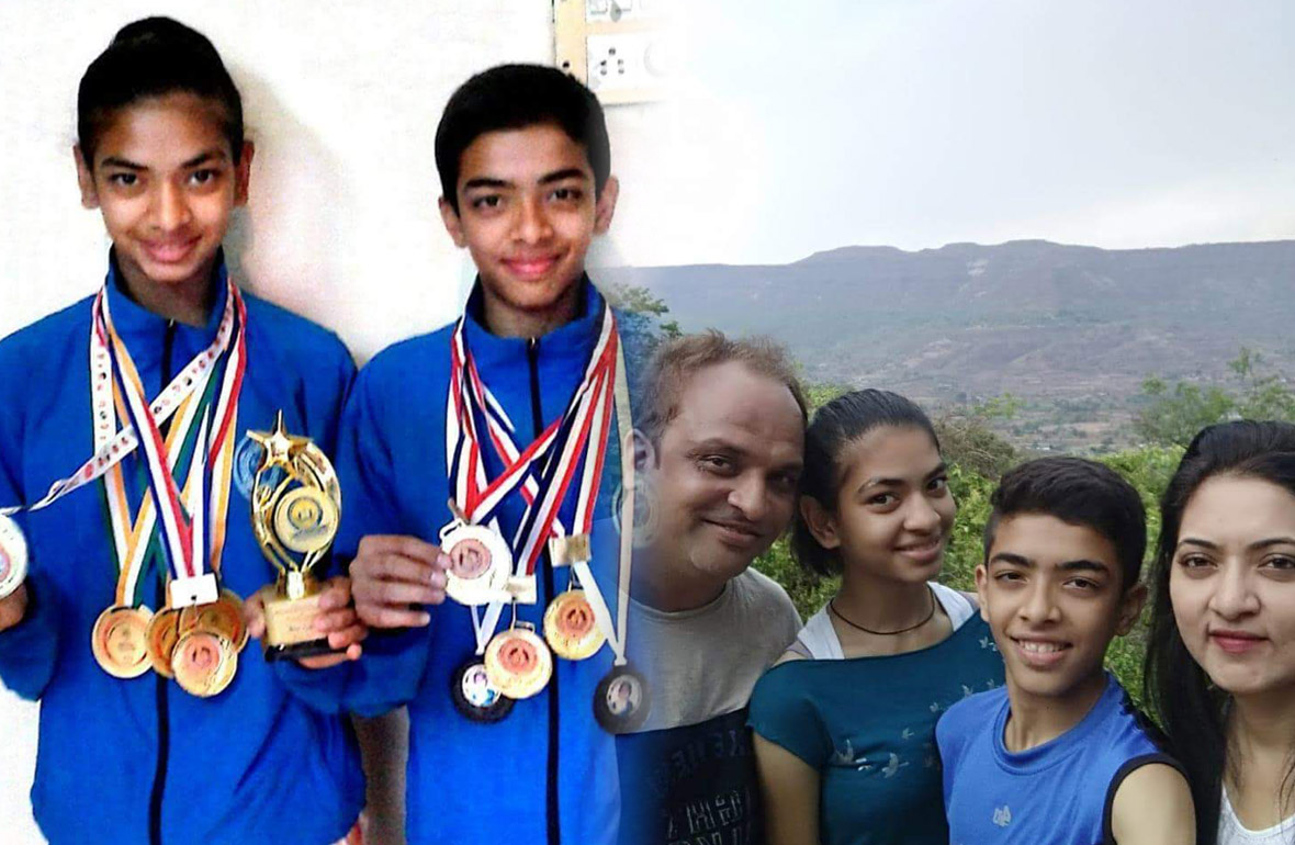 Read the inspirational story of Twins achievements with right parenting & struggles
