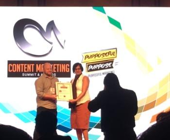 Self-made woman contentpreneur Payal shah Karwa of The Word Jockey