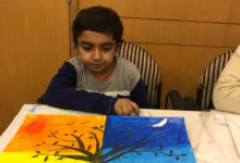 This is the story of 7 year old courageous Atharva