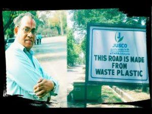 Dr Rajagopalan Vasudevan - Plastic Man of India