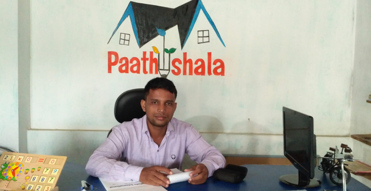 Prakash Pandey - India's youngest change-maker in Rural Education