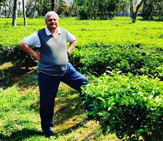 Rajiv Lochan - at his Doke Tea Gardens