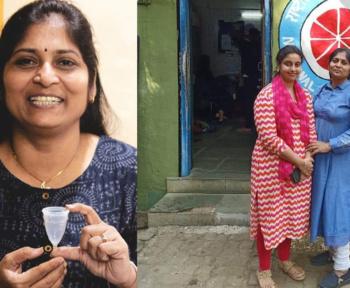 Seema khandale - a social worker who loves serving people.
