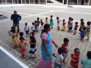 sunny nagpal with kids