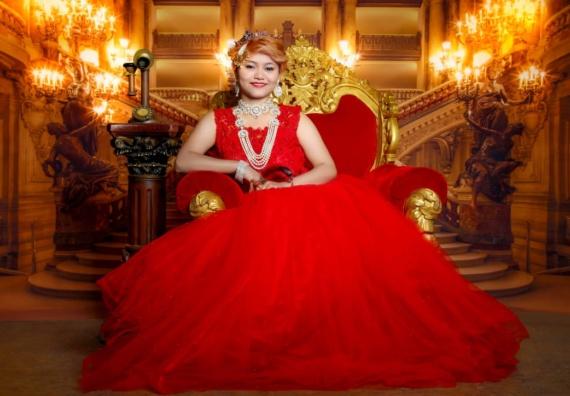 Miss Queen of Nations- Elina Sangtam