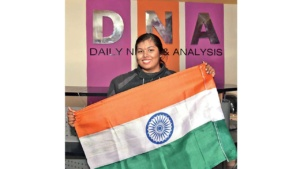 Biking All The Way - Mitsu Chawda at DNA Office