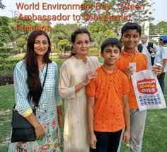 Environmentalist Bhavisha Buddhadeo with her team