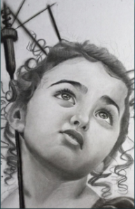 A Pencil sketch from Art18.in